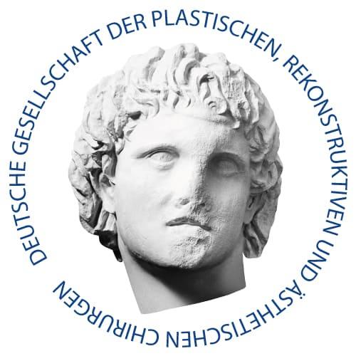 Logo DGPRÄC – (Deutsche Gesellschaft der Plastischen-Rekonstruktiven und Ästhetischen Chirurgie ) Berufsverband und Wissenschaftliche Fachgesellschaft der Plastischen und Ästhetischen Chirurgen Deutschlands